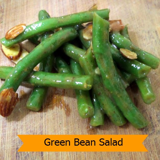 Green Bean Salad: Crispy green beans in a honey mustard vinaigrette ...