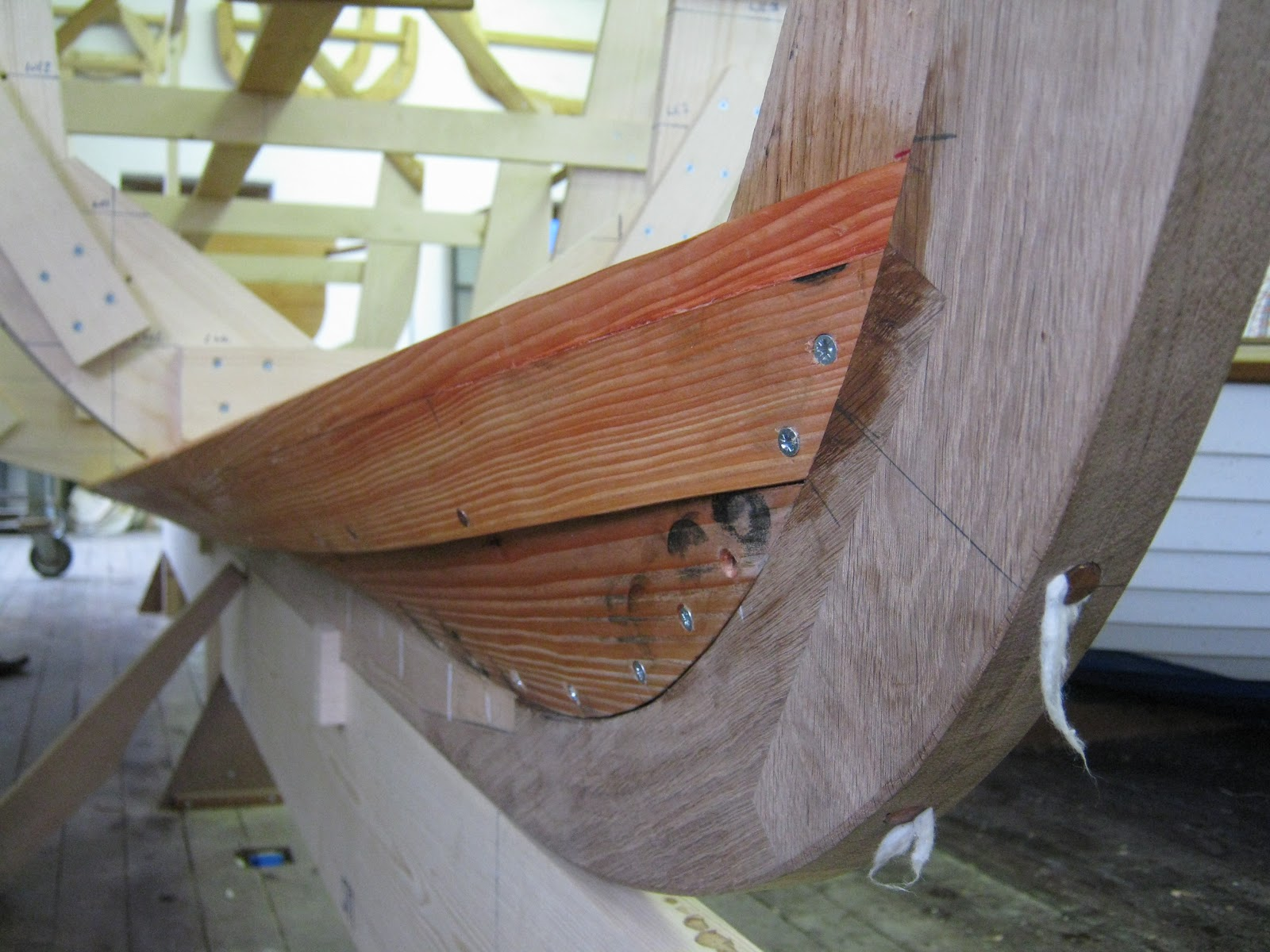 Traditional Boatbuilding Skills: Traditional Clinker Planking 30th March - 1st April