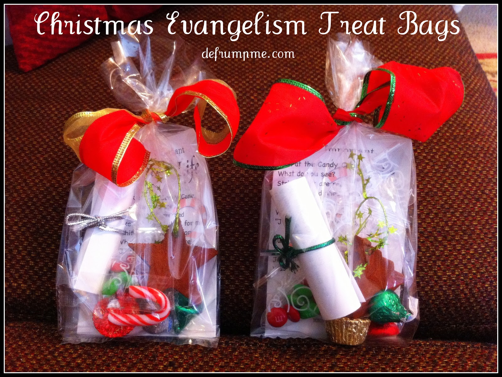defrump me evangelism treat bags