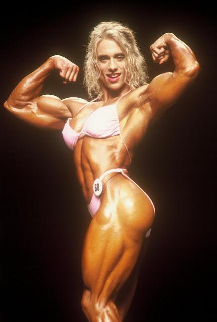 90's Female Muscle: Denise Rutkowski