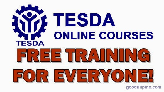TESDA now offers 29 online courses for Free