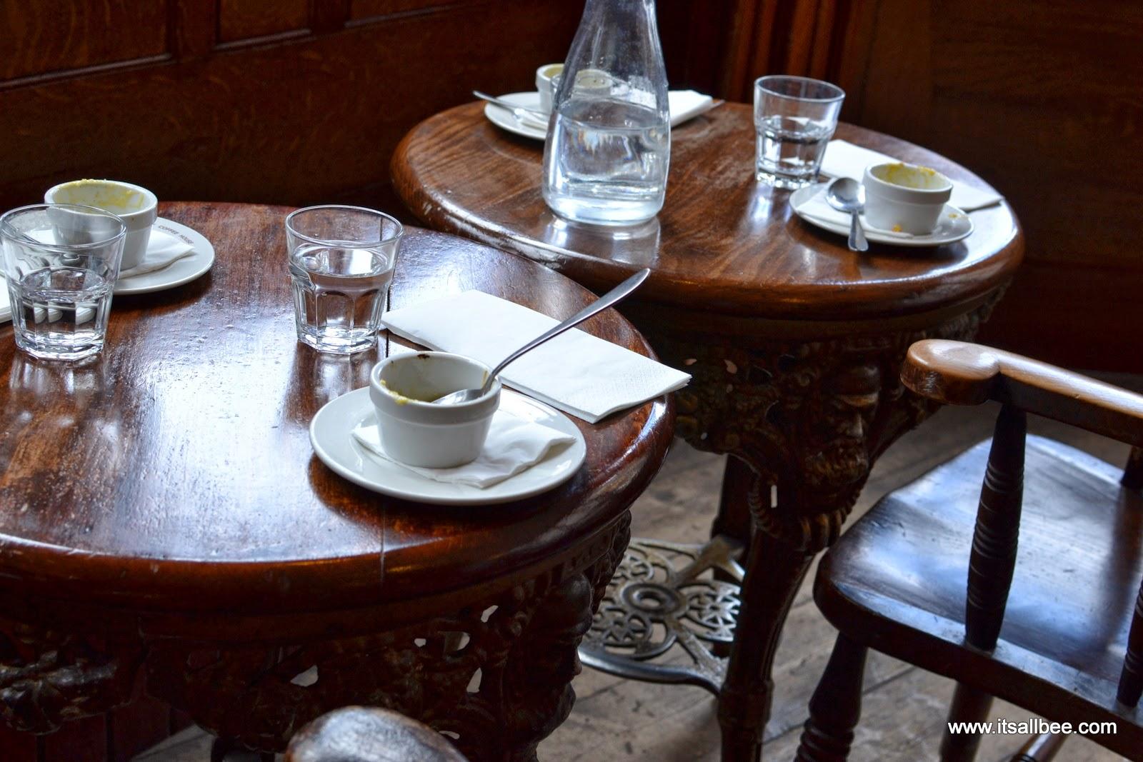 The English Restaurant Liverpool Street London