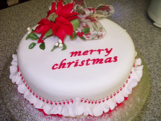 show wallpaper merry christmas cake