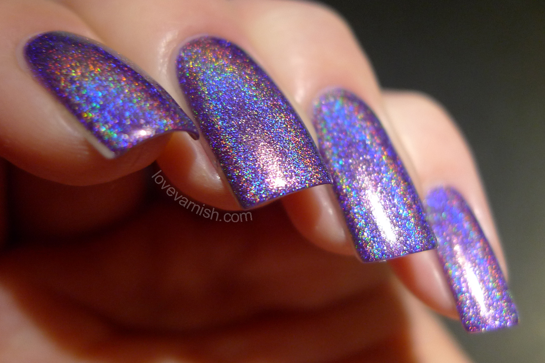 Too Fancy Lacquer Color4Nails exclusive Violette Etoilee