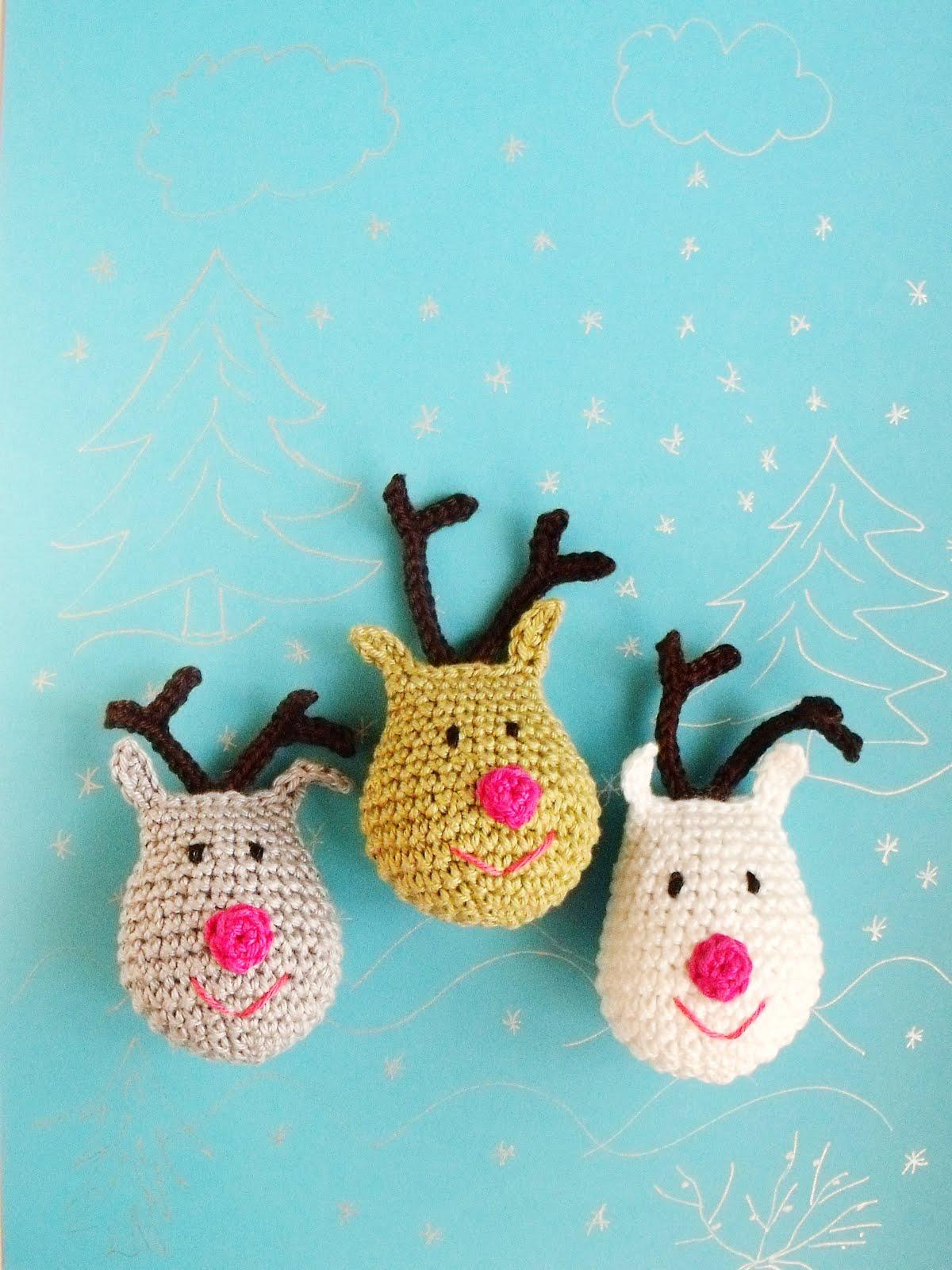 Rénszarvas minta/Reindeer free pattern