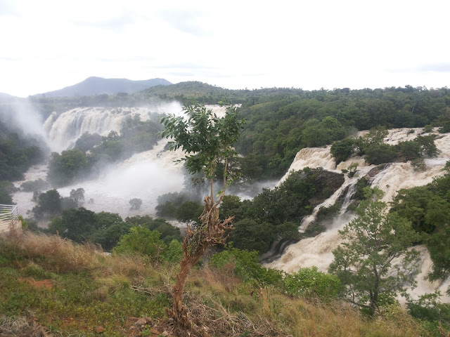 Bharachukki and Gaganchukki waterfalls