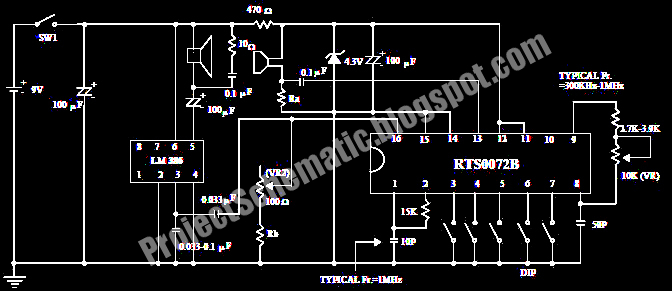 free project circuit schematic voice changer circuit using rts0072b rh projectschematic blogspot com