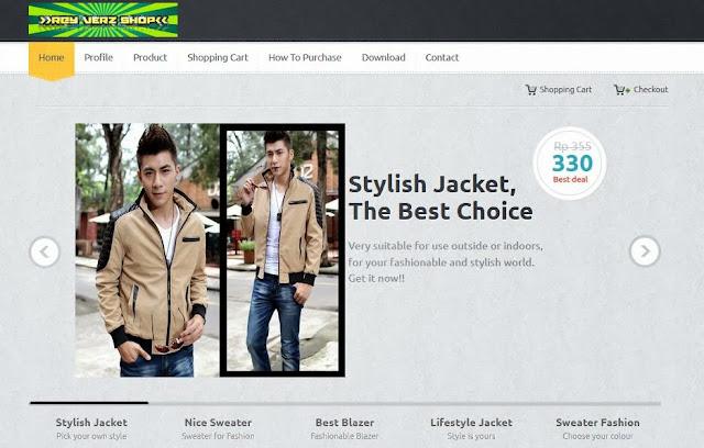 toko online fashion terpercaya
