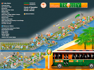 miami trolley stations