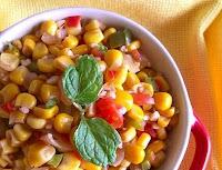 Salada de Milho Verde (vegana)