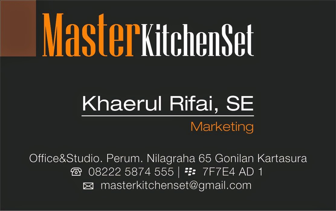 marketing kitchen set solo premium
