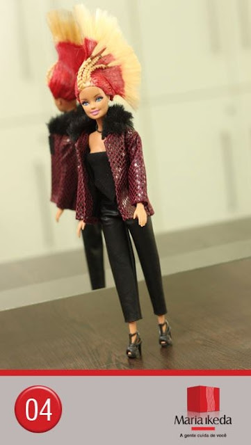 Sorteio Barbie Kate Perry para seguidores