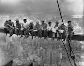 septiembre 1923 construccion del Rockefeller Center.