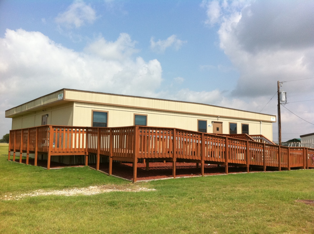 Prefab Carports Texas : Modular building portable classroom office trailer