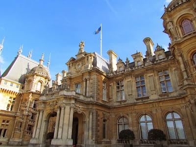 Waddesdon Manor, autumn, Baron Ferdinand de Rothschild, National Trust, visit, day trip, architecture