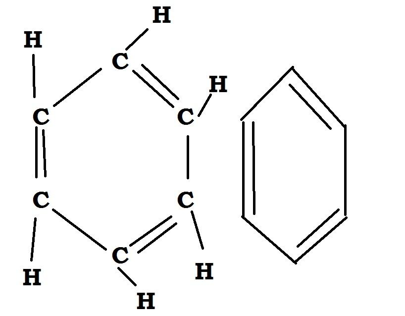 diagram of c6h6