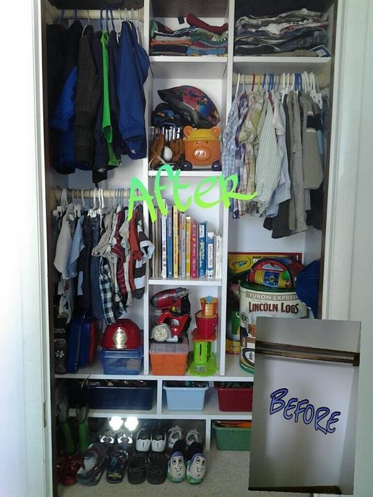 His Wife. Their Mommy.: My Boys Closet