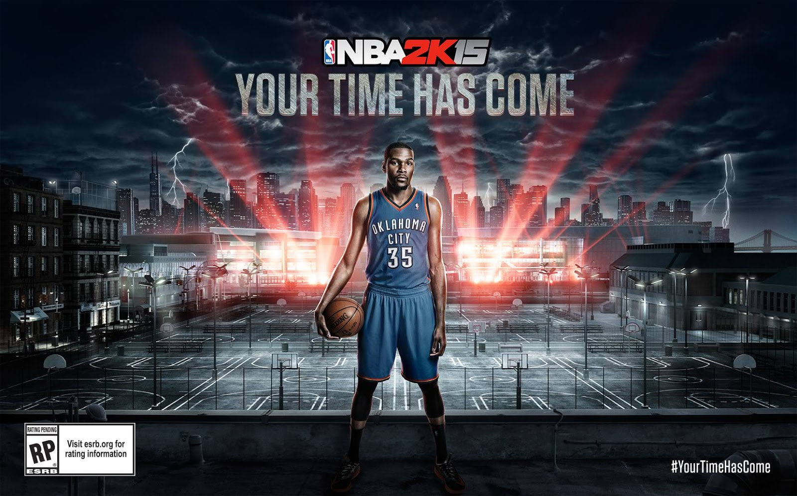 Kevin Durant announced NBA 2k15 Cover Athlete