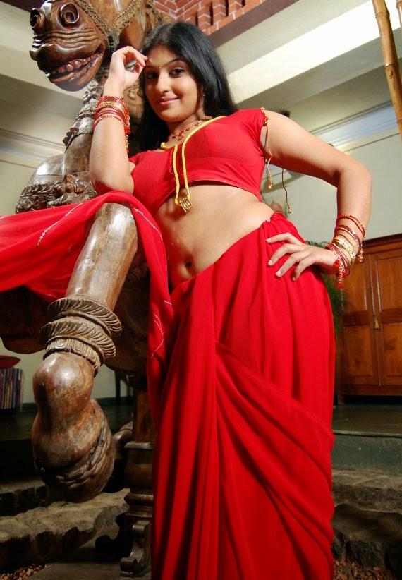 Hot actress Monika without saree Navel Queens