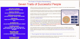 Seven traits of successful people