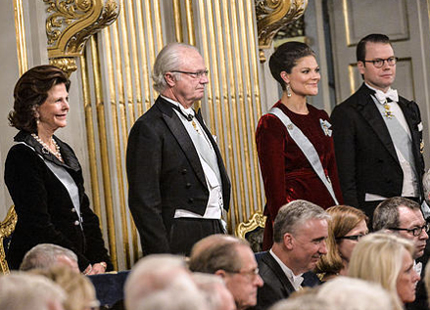 The Sweden Royal Family - Swedish Academy - Stock Exchange - Stockholm