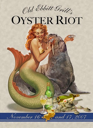 Robert Rodriguez Illustration Oyster Riot