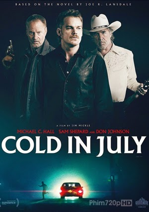Cold in July 2014 poster