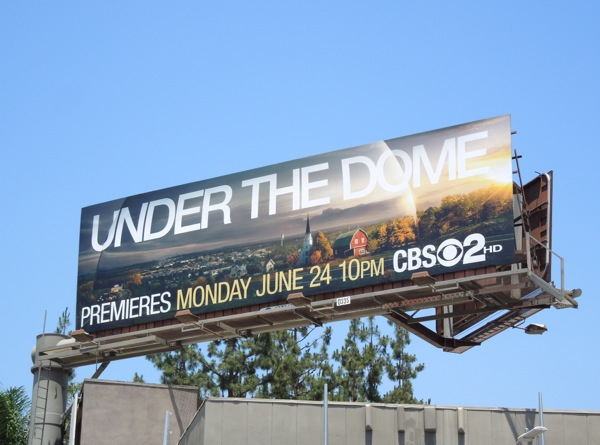 Under the Dome billboard
