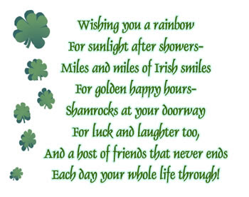 irish blessings