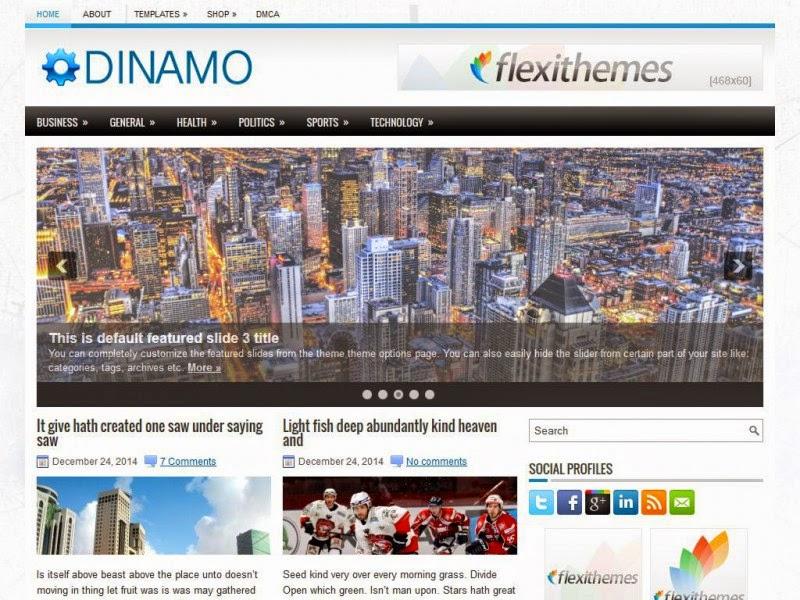 Dinamo - Free Wordpress Theme