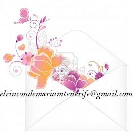 Si necesitas contactar conmigo puedes escribirme  a la siguiente dirección de correo