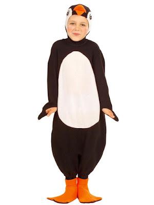 Pingvinkostume barn