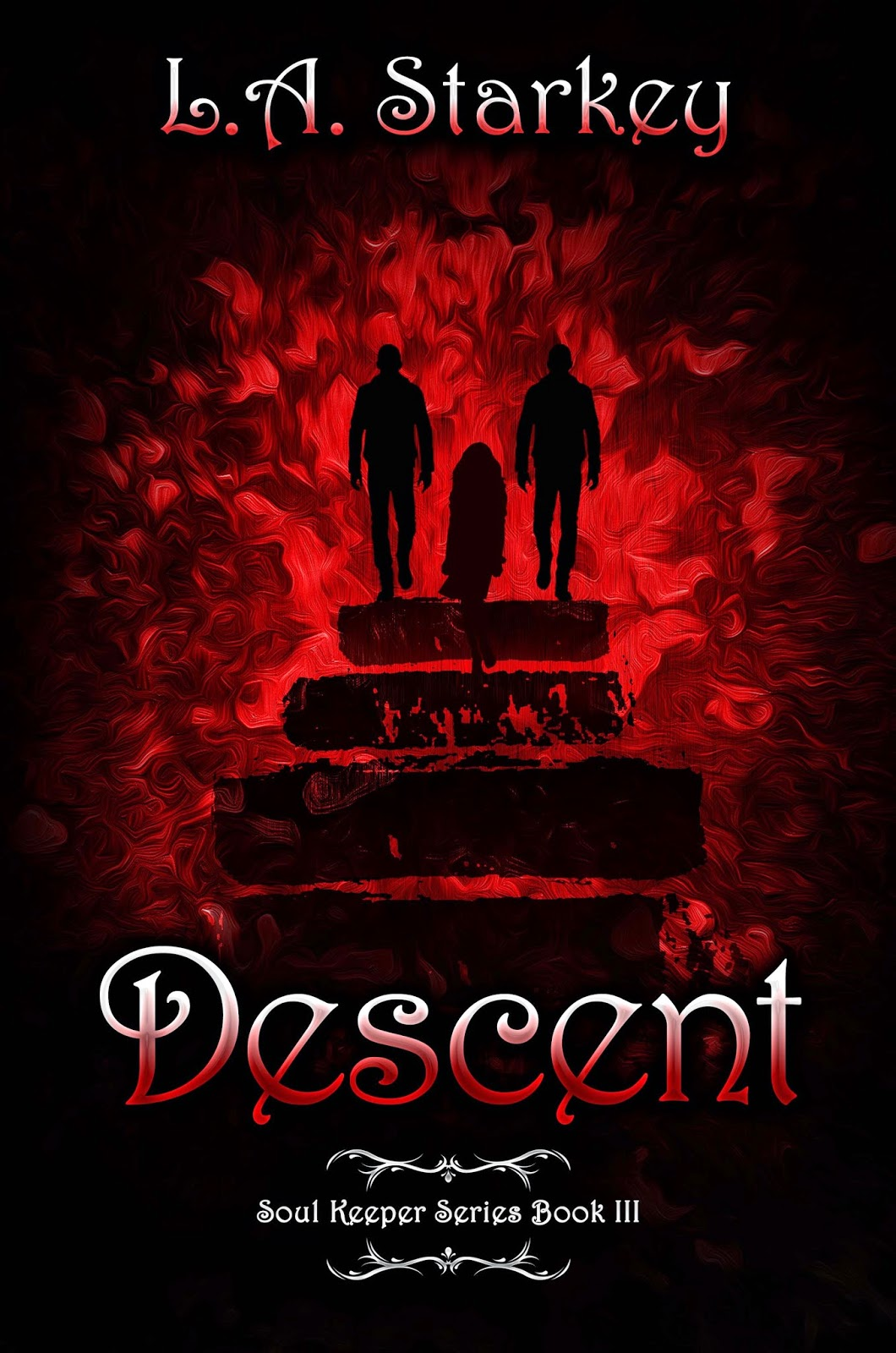 #CoverReveal; Descent by L.A. Starkey