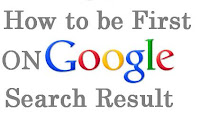 How to be first on Google search