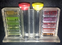 Pool Chemical Test Kit to test pH for Gout