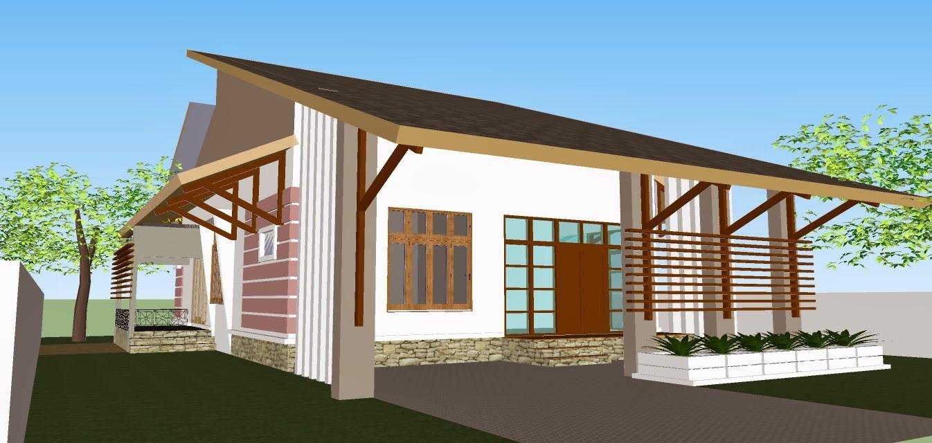 Rekabentuk 3D Homestay 1 Tingkat