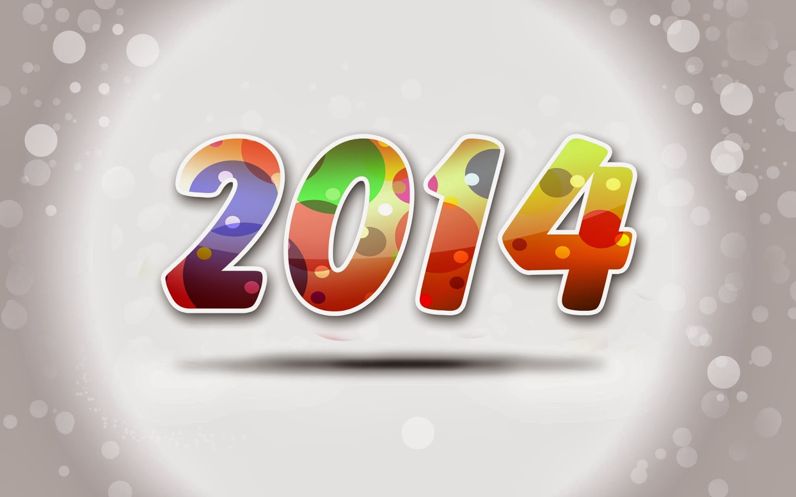 Beautiful Wallpaper: New Year Wishes 2014 ~ 3D Wallpaper