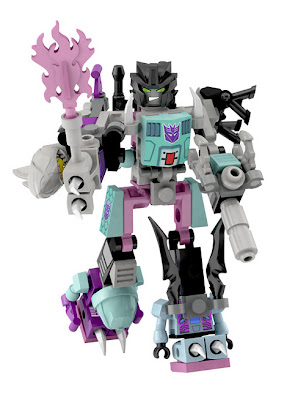 Hasbro Transformers Kre-O Micro Changers Combiners Series 2 - Piranacon (Seacons)