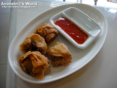 Fried Wonton at Yen Yen Taiwan Street Food