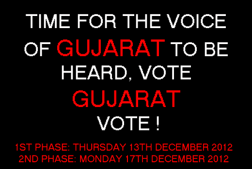 Time For The Voice Of Gujarat To Be Heard, Vote Gujarat Vote !