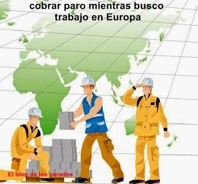cobrar, paro, union europea,emigrado, trabajadores, extrangero