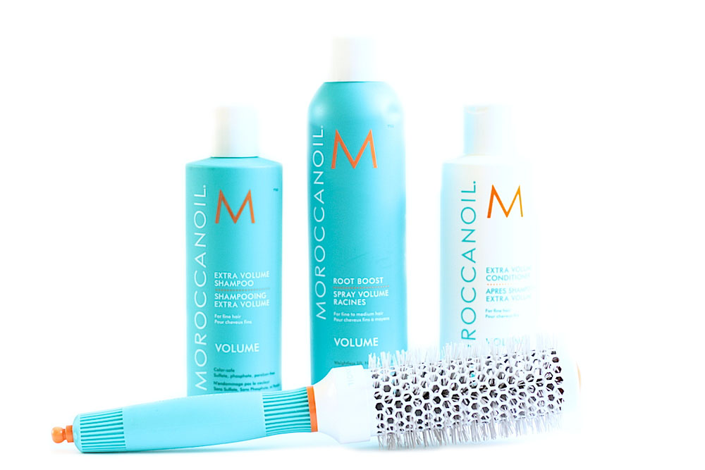moroccaonoil gamme volume shampooing apès-shampooing spray volume avis test