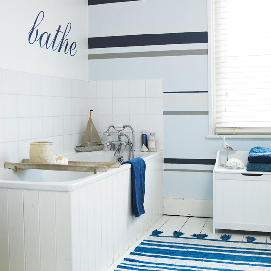 Decoration ideas bathroom ideas nautical - Nautical decor bathroom ...