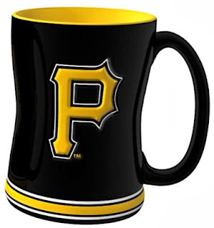 Pittsburgh Pirates MLB 14-Ounce Sculpted Relief Mug