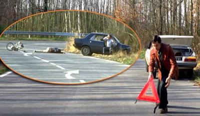 وصول أول العربة الى مكان الحادث