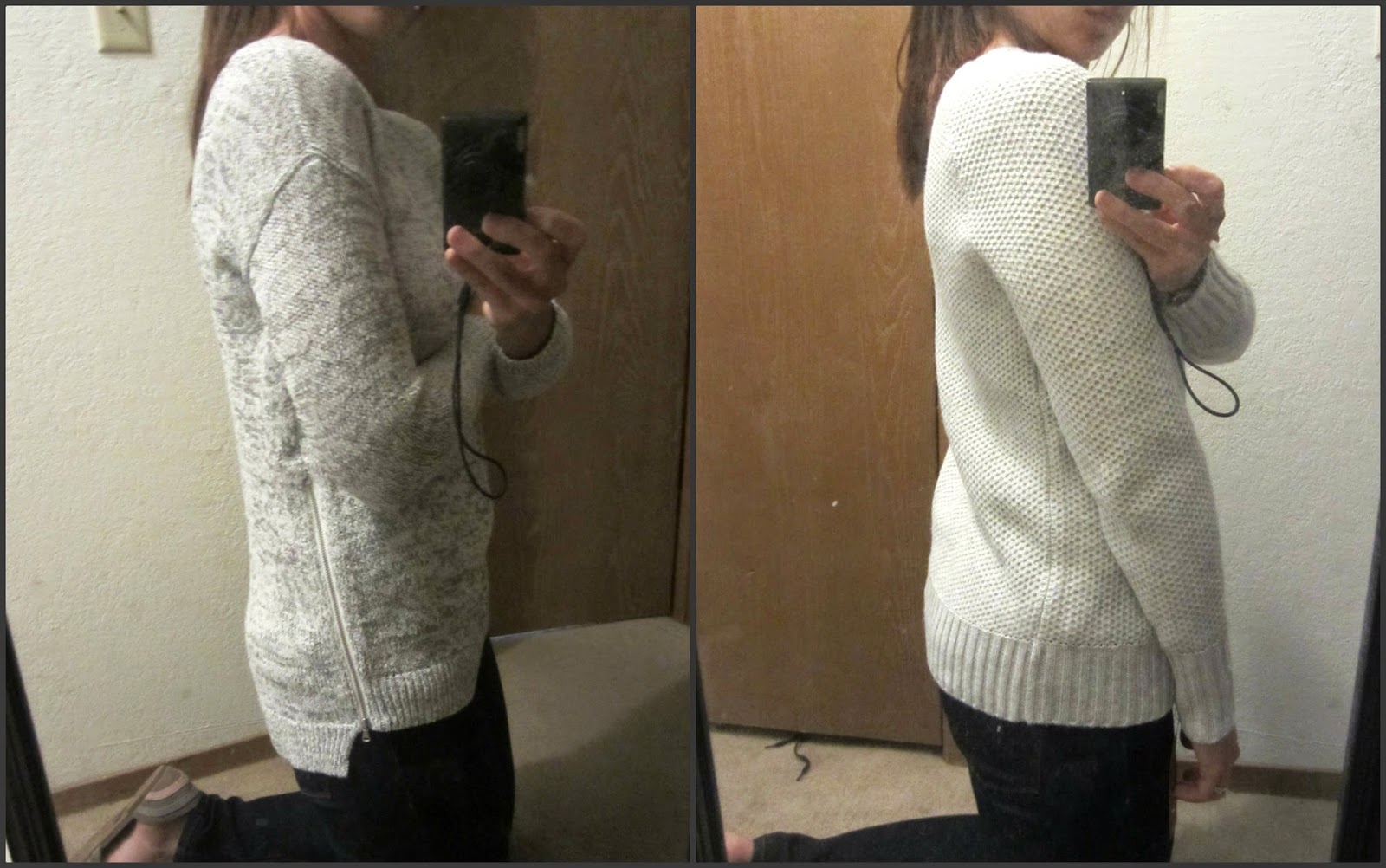 a journey in style: review: Loft & Target sweaters