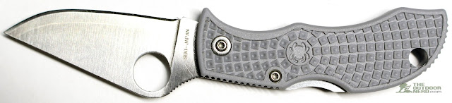 Spyderco Super Blue Manbug Pocket Knife - Gallery 6