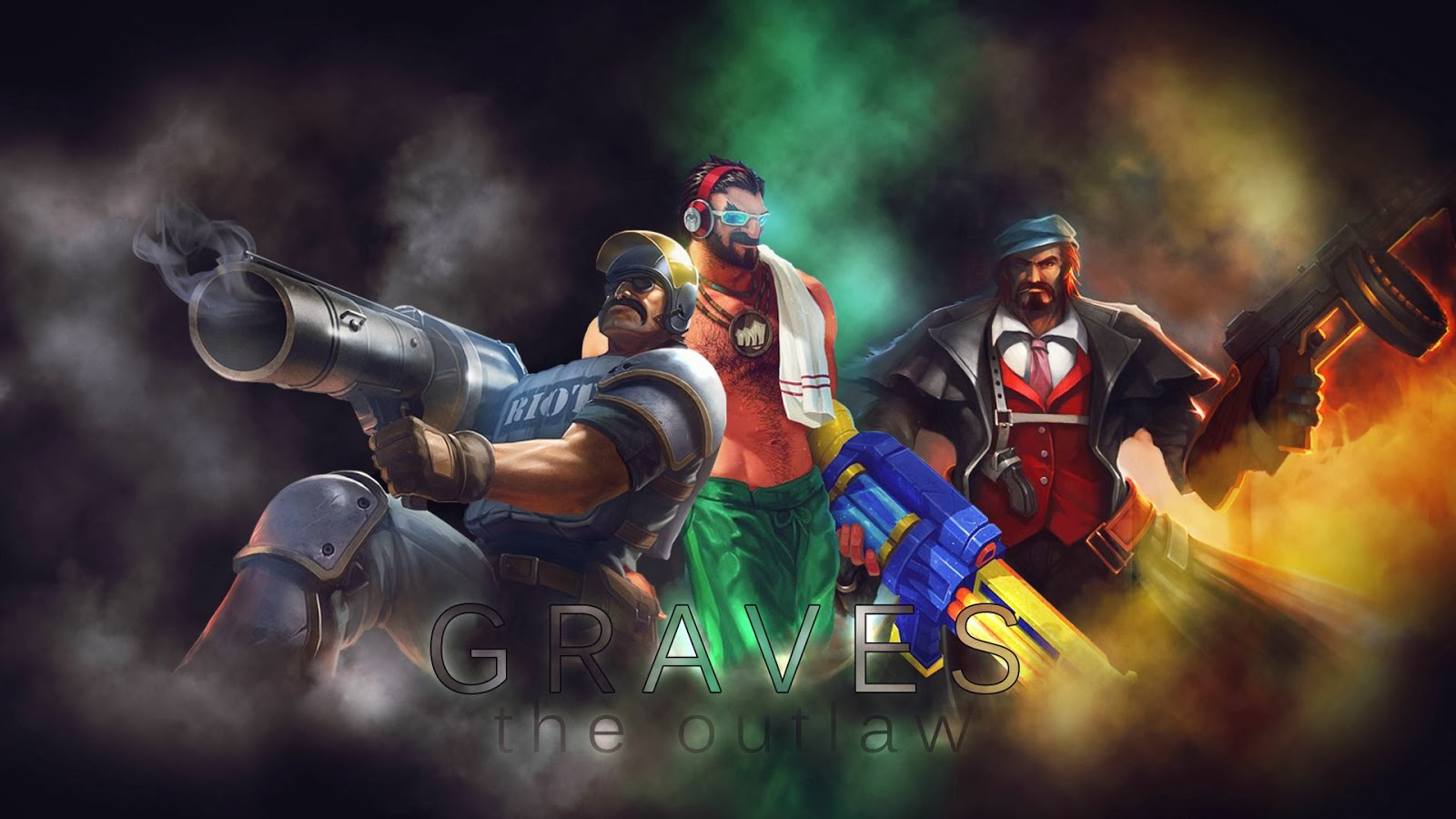 Graves League of Legends Wallpaper