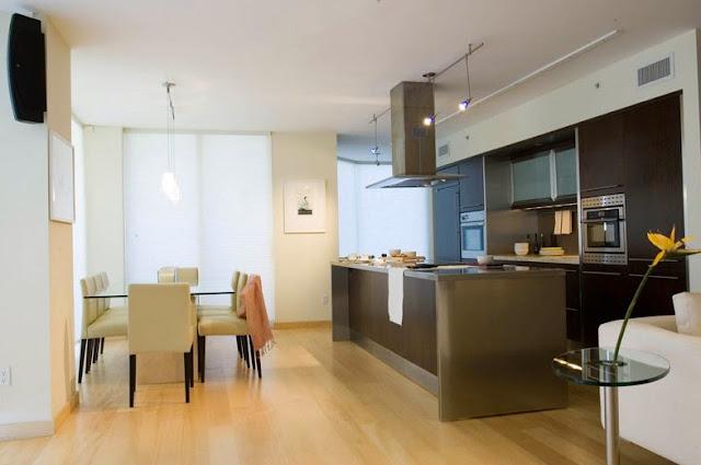 Cocina moderna e integrada