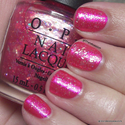 OPI Be A Dahlia Won't You? under OPI I Lily Love You nail swatch